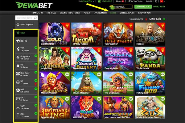 Chơi slot game miễn phí