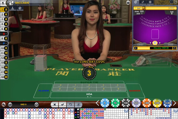 Game đánh bài casino trực tuyến