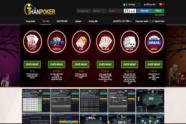 Thần poker
