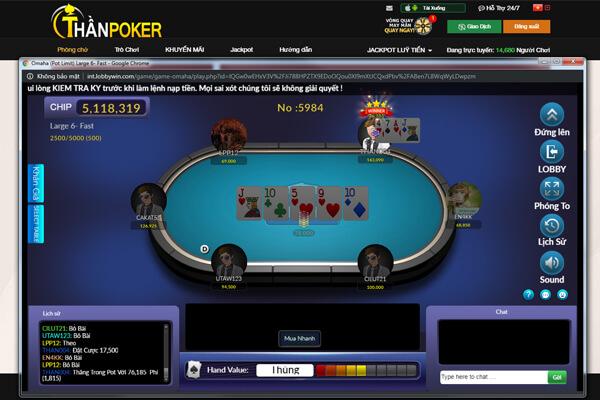 Poker online đổi thưởng