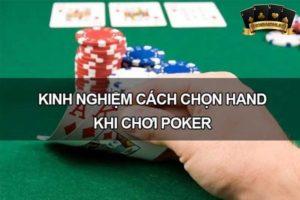 các hand trong poker