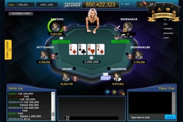 Chơi Poker Online Miễn Phí