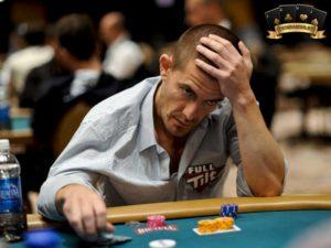 người chơi poker kém