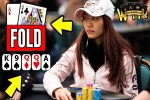 Nữ VĐV Poker Nguyễn Thị Xoa