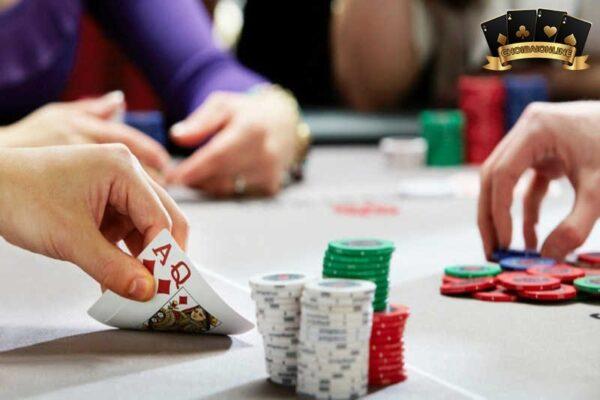 chơi poker