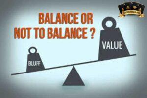 Balance trong poker